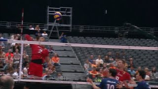 Crazy Volleyball Attacks.