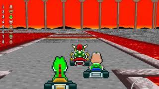 New Super Mario Kart - 200cc Star Cup (Unlocking Birdo)