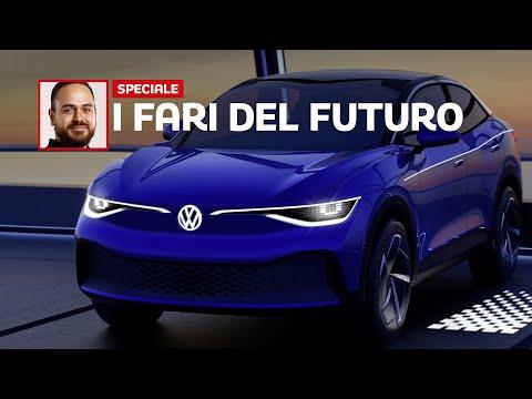 Ologrammi LED in  e sguardi interattivi: il futuro dei FARI secondo Volkswagen