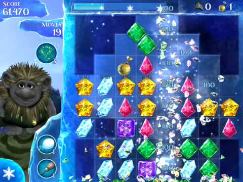 Disney Frozen Free Fall Level 27 (3 stars)