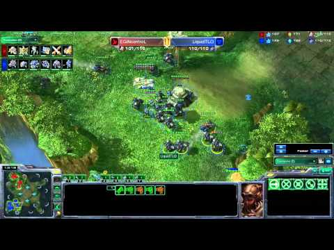 MLG Columbus Starcraft 2 - iNcontroL vs TLO - Pool Play Map 1
