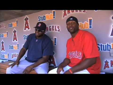 Hanign with Mr. hunter: David Ortiz Video