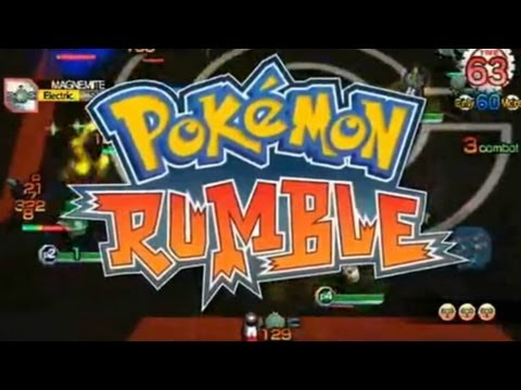 CGRundertow POKEMON RUMBLE for Nintendo Wii Video Game Review