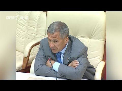 Рустам Минниханов отчитал миндорстрой за плохие дороги