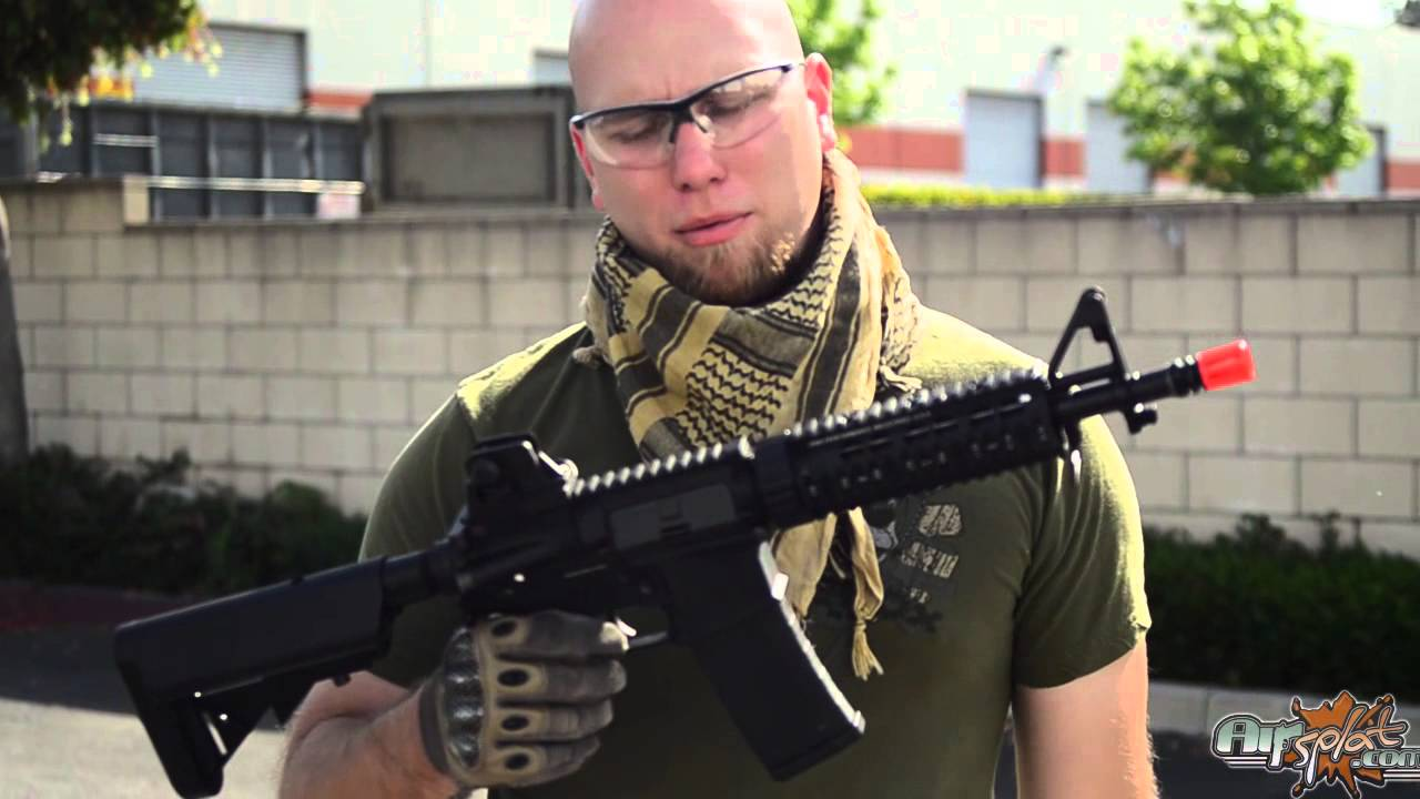 KWA KM4 M4 DEVGRU Airsoft Rifle - Thor's Pick - YouTube
