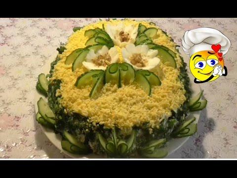 Вкусные салаты к празднику рецепты простые и вкусные