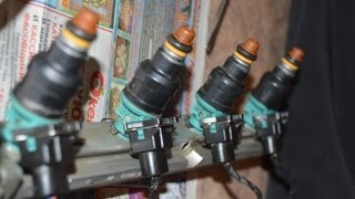 Чистка и снятие форсунок ВАЗ 2110-12 1.5 16кл