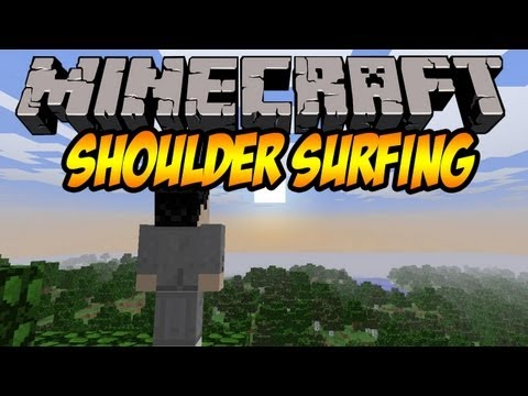 Minecraft Mod 1.5.2 Spotlight Shoulder Surfing! (Install Guide Included)