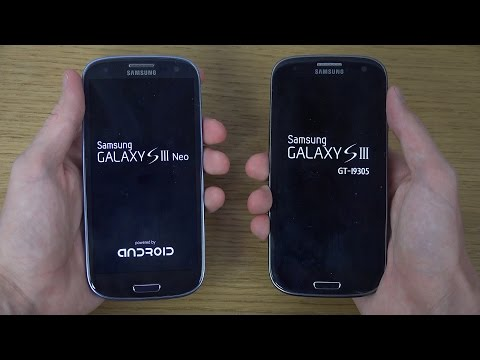 Samsung Galaxy S3 Neo vs. Samsung Galaxy S3 4G - Which Is Faster?
