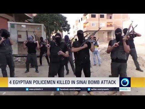 Four Egyptian Policemen Killed In Sinai Bomb Attack