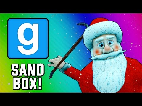 Gmod Sandbox Funny Moments - Santa Claus Tryouts! (Garry's Mod Early Christmas Special)
