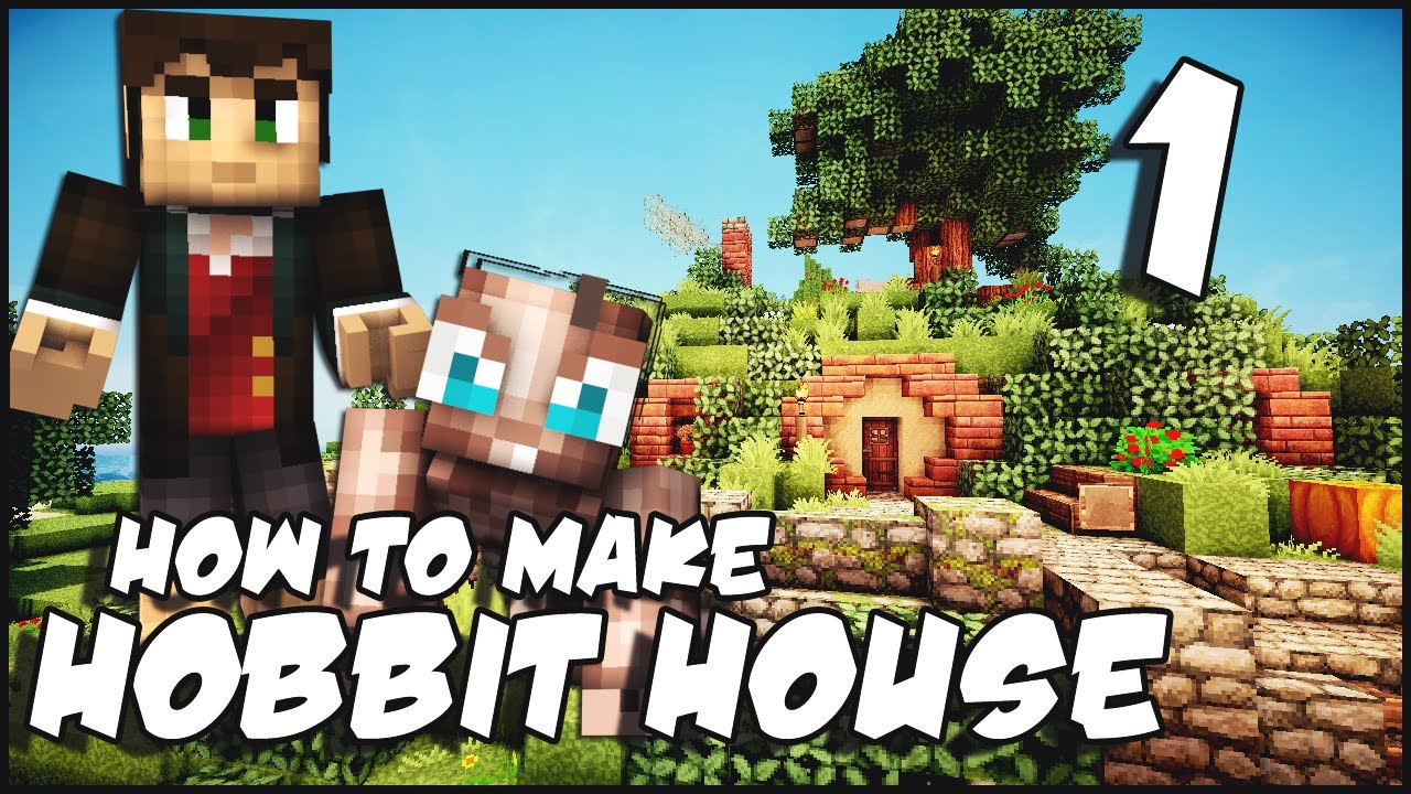 minecraft how to make a hobbit house part 1 youtube. Black Bedroom Furniture Sets. Home Design Ideas