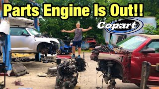 Rebuilding a Totaled wrecked Pt Cruiser Part 3 from copart Salvage Auction