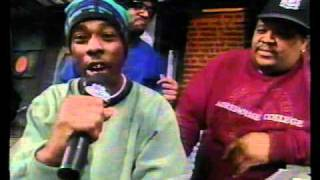 Wu-Tang Clan with Ed Lover & Doctor Dre in 1993 (rare)