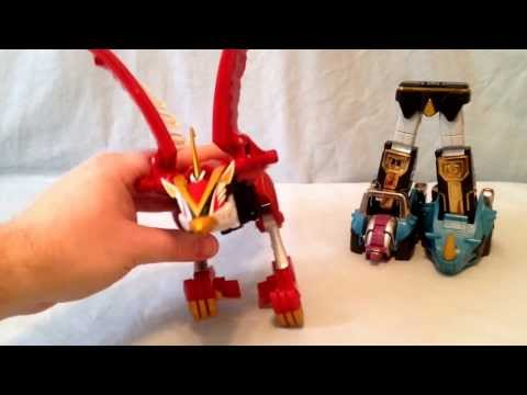 Power Rangers Wild Force Isis Megazord Review