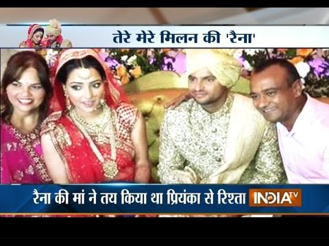 High-profile cricketers attend Suresh Raina's wedding in Delhi