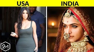 10 Countries That Have Extremely Different Concepts of Female Beauty
