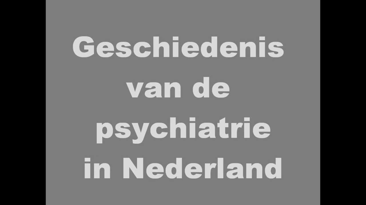 Dsm Keukens Geschiedenis : Geschiedenis psychiatrie YouTube