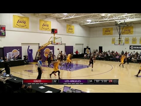 Manny Harris goes for 28 as Idaho Stampede beats Los Angeles D-Fenders