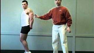 Bodybuilding Posing Instruction