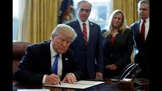 Despite Republican control, Trump relies on executive orders to push his agenda