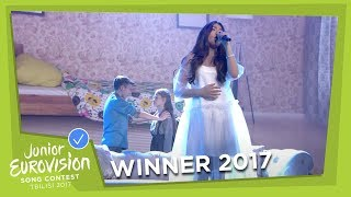 WINNER - POLINA BOGUSEVICH - WINGS - LIVE - RUSSIA - JUNIOR EUROVISION 2017
