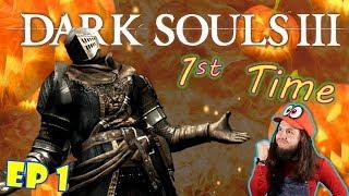 Dark Souls BLIND Episode 1!  :O | Dark Souls III Xbox One X