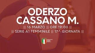 Serie A1F [17^]: Oderzo - Cassano Magnago 23-23