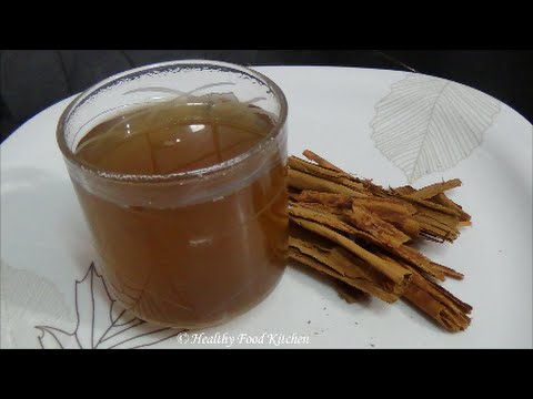Cinnamon Honey Tea Recipe-A Weight Loss Recipe By Healthy Food Kitchen