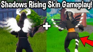 """NEW """"SHADOW RISING"""" PACK GAMEPLAY in FORTNITE! (Should You Buy These Skins)"""