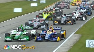 IndyCar Grand Prix at Road America 2019 | EXTENDED HIGHLIGHTS | 6/23/19 | NBC Sports