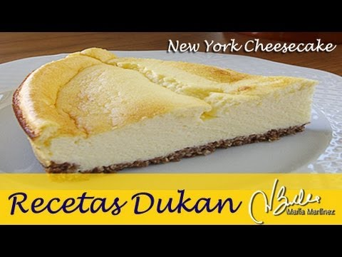 Tarta Dukan de queso y galleta (Crucero) / Dukan Diet New York Cheesecake