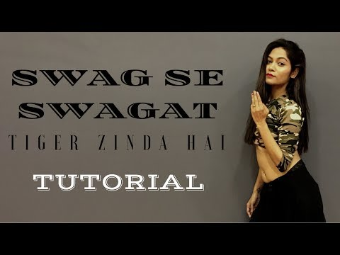 Swag Se Swagat | Tiger Zinda Hai | Tutorial Video | LiveToDance with Sonali