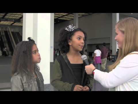 Charlize Glass of 8 Flavahz  Interview at World of Dance LA ft. Asia Monet Ray