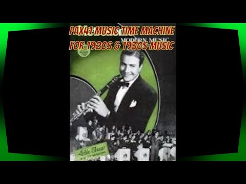Classic 1930s Big Band Swing Music  10 songs @Pax41