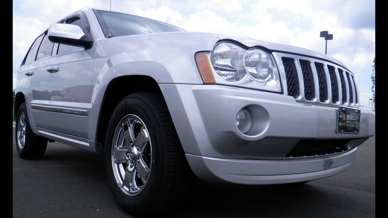 Sold 2006 Jeep Grand Cherokee Overland 5 7 Hemi Moonroof