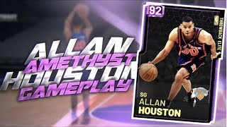 AMETHYST ALLAN HOUSTON 93 POINT GAMEPLAY!! TRUST ME HE IS THE BEST CARD IN NBA 2K19 MYTEAM!