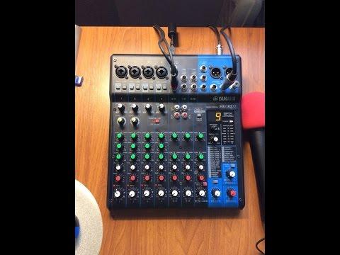 Обзор микшера Yamaha MG10XU. Mixer Yamaha MG10XU,