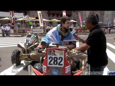 Lucas Bonetto el participante más joven del Dakar 2012