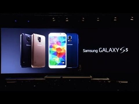 SAMSUNG GALAXY S5 | MOBILE WORLD CONGRESS 2014 (MWC 2014) UNPACKED GALAXY S5