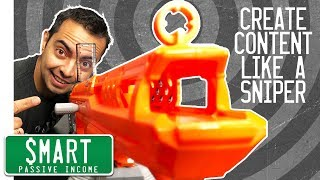 """Content Creation (5 """"Sniper"""" Tools for Creating Winning Content)"""