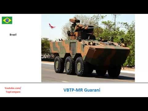 VBTP-MR Guarani & Anoa, six-wheeled personnel carriers specs