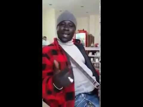 Talented Black Man Singing in Hindi