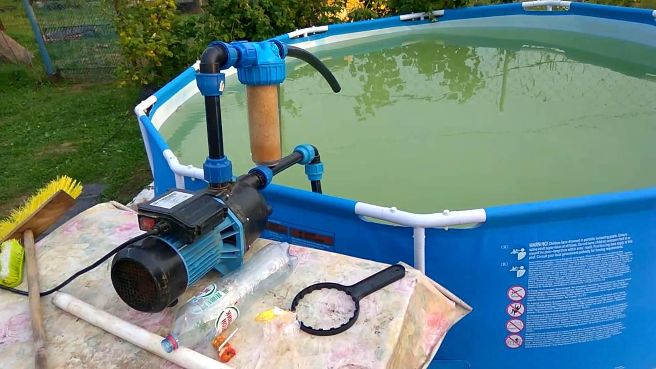 Песочный фильтр для бассейна своими руками 36
