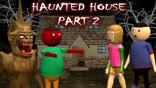 Haunted House Part 2 - Donate Food (ANIMATED IN HINDI) MAKE JOKE HORROR