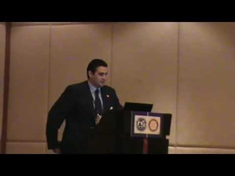 Rotary International Bangkok Convention 2012 Pablo Ruiz & Social Media