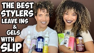 The BEST Stylers With SLIP | Leave In Conditioners & Gels