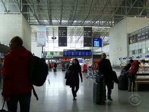 Airport security increased due to new terrorism threat