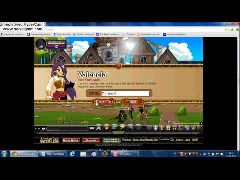 =AQW=All Special Codes of The Valencia -2012 (How to get Chainfire Blade)