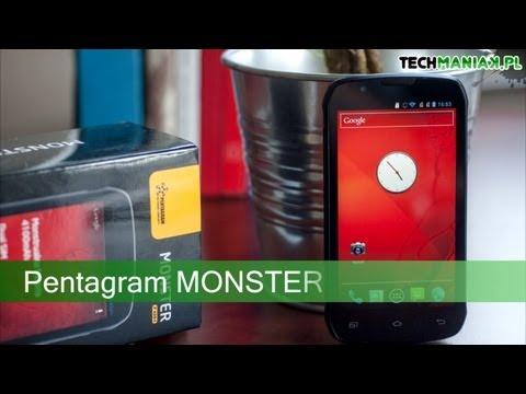 Wideo test i recenzja telefonu Pentagram MONSTER | techManiaK.pl